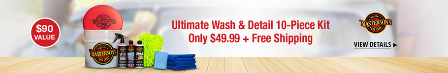 Ultimate Wash & Detail 10-Piece Kit