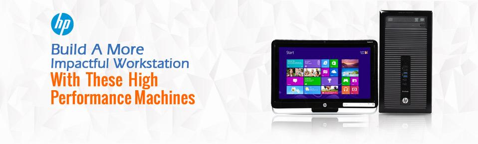 Enhance Your View, Advance Your Connectivity | HP Desktop PCs Up To $180 Off