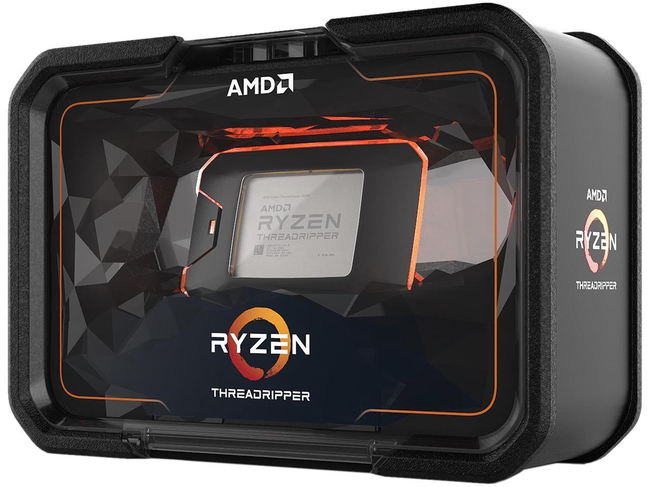 AMD RYZEN Threadripper 2990WX 32-Core / 64 Threads 3.0 GHz Socket sTR4 250W YD299XAZAFWOF Desktop Processor