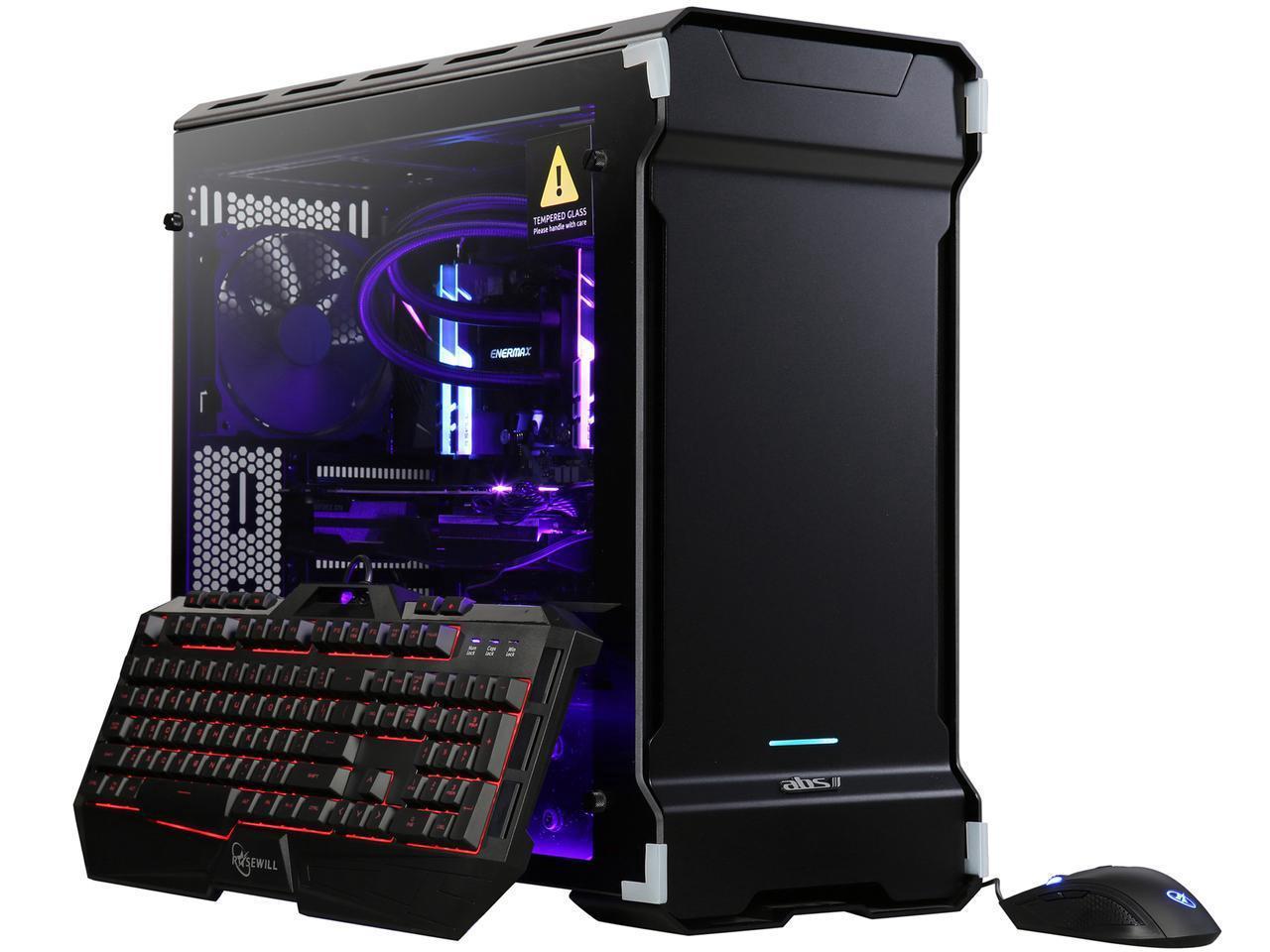 ABS TRipper V2 AMD Radeon RX Vega 64 8 GB AMD Ryzen Threadripper 2990WX (3.00 GHz) 32-Core Liquid Cooling (240 mm) 32 GB DDR4 512 GB NVMe M.2 SSD 2 TB HDD Windows 10 Home 64-Bit ALA091