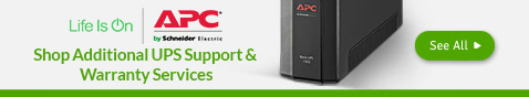 Shop Additional UPS Support & Warranty Services