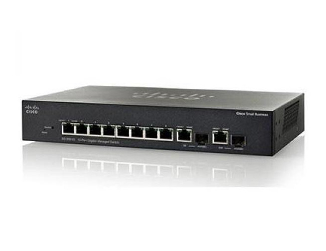SG350-10P 10-Port Gigabit PoE Managed Switch