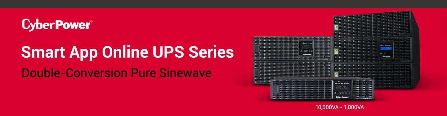 CyberPower Smart App Online UPS Series - NeweggBusiness com