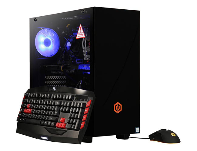 CyberpowerPC Gaming Desktop Gamer Xtreme C790T Intel Core i7 9th Gen 9700K (3.60 GHz) 16 GB DDR4 2 TB HDD 240 GB SSD NVIDIA GeForce RTX 2070 Windows 10 Home 64-Bit