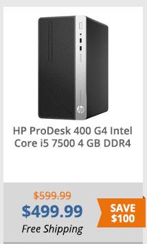 HP Desktop Computer ProDesk