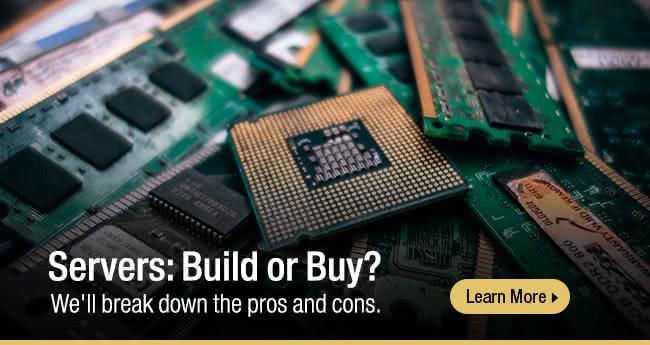 Smart Buyer - Servers: Build or Buy?