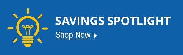 Savings Spotlight