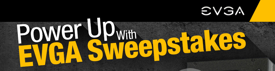 Power Up With EVGA Sweepstakes