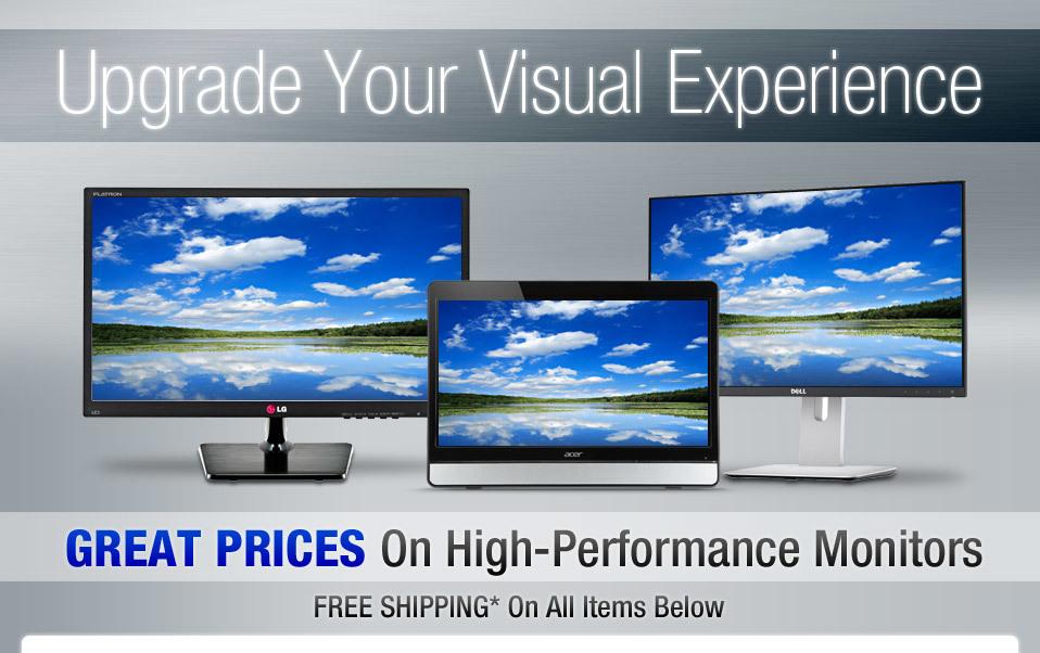 Upgrade Your Visual Experience - NeweggBusiness com