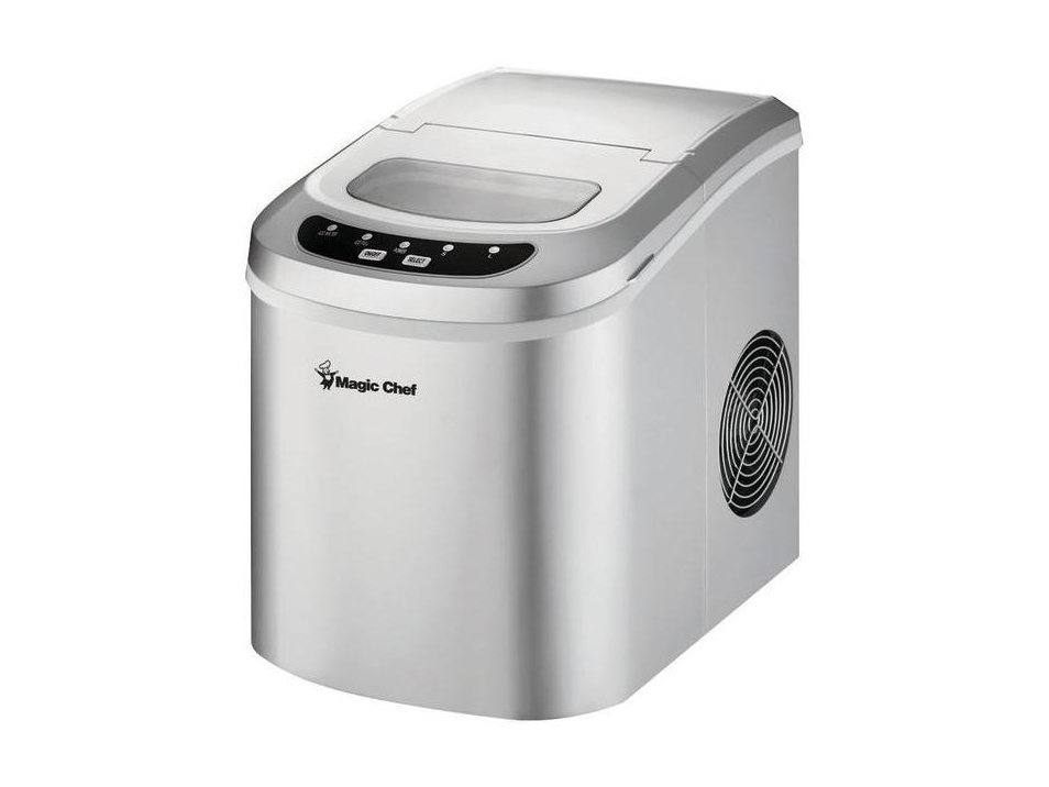 MAGIC CHEF MCIM22SV 27lb Capacity Ice Maker