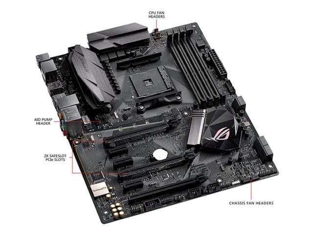 ASUS ROG STRIX B350-F GAMING AM4 AMD B350 SATA 6Gb/s USB 3.1 HDMI ATX AMD Motherboard