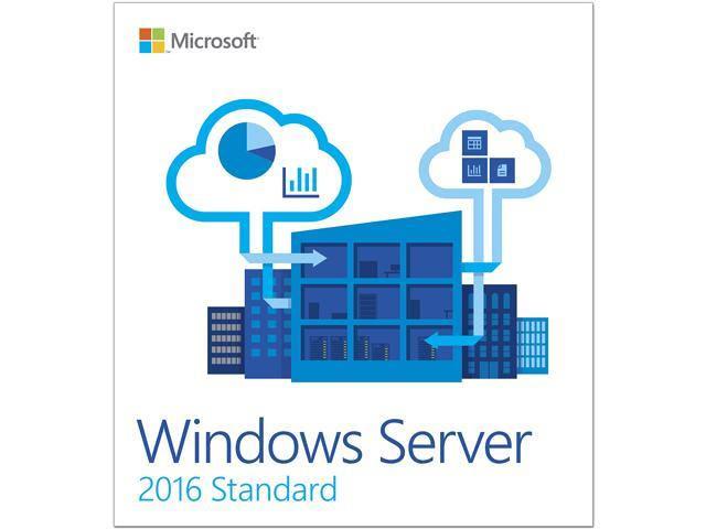 Windows Server Standard 2016 - 16 Core - OEM
