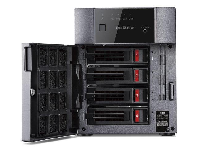 BUFFALO TS3410DN1604 16TB (4 x 4TB) Network Storage