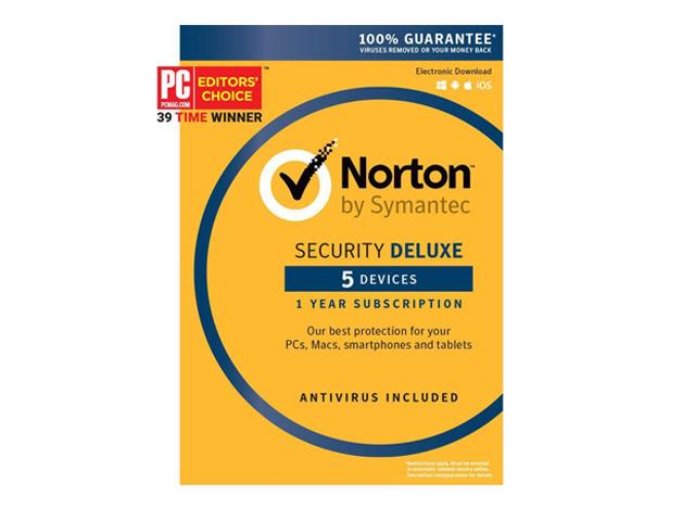 Symantec Norton Security Deluxe - 5 Devices (Small Box)