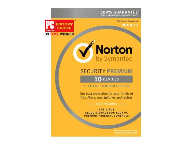 Symantec Norton Security Premium - 10 Devices (Small Box)