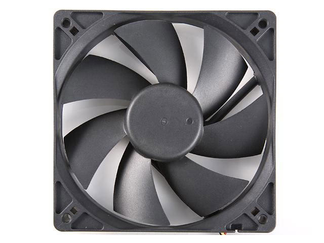 Rosewill RFA-120-K - 120mm Computer Case Cooling Fan with LP4 Adapter