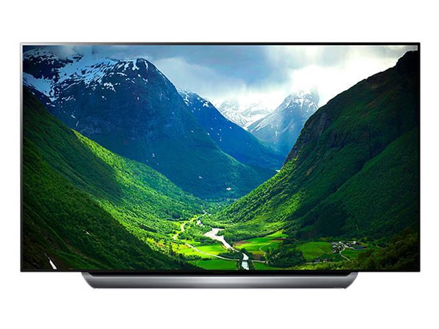 LG OLED65C8PUA 65in OLED 4K HDR Dolby Atmos Smart TV with AI ThinQ (2018)