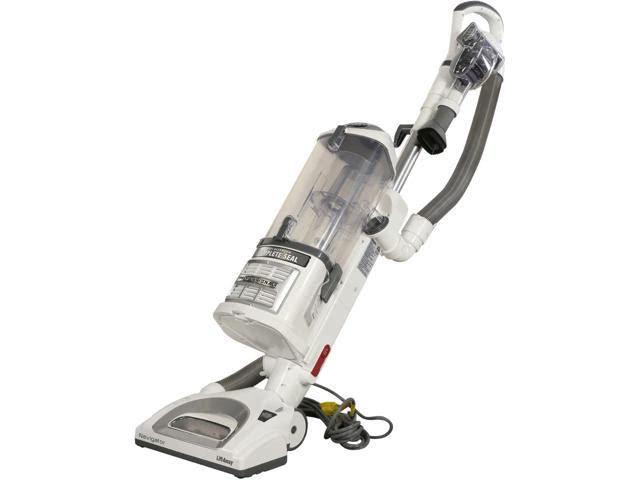 Refurbished: Shark NV370EBGB Navigator Lift-Away Professional Upright Vacuum White and silver