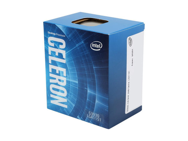 Intel Celeron G3930 Kaby Lake Dual-Core 2.9 GHz LGA 1151 51W BX80677G3930 Desktop Processor
