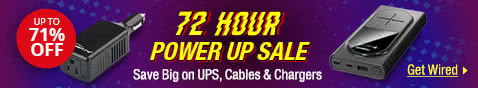 72-Hour Power Up Sale