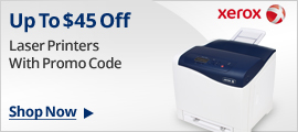 Up To $45 Off Laser Printers With promo code