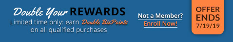 REWARDS Program: Double BizPoints Offer