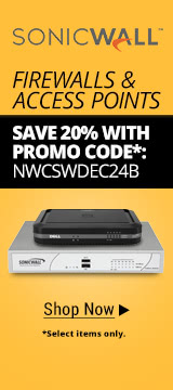 SonicWALL Networking 20% Off