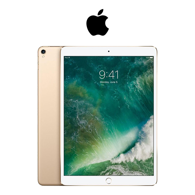 Apple iPad Pro Tablet 64 GB Retina Display, Gold 10.5in