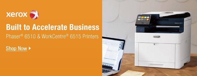 Xerox Printers 6510 and 6515 Series