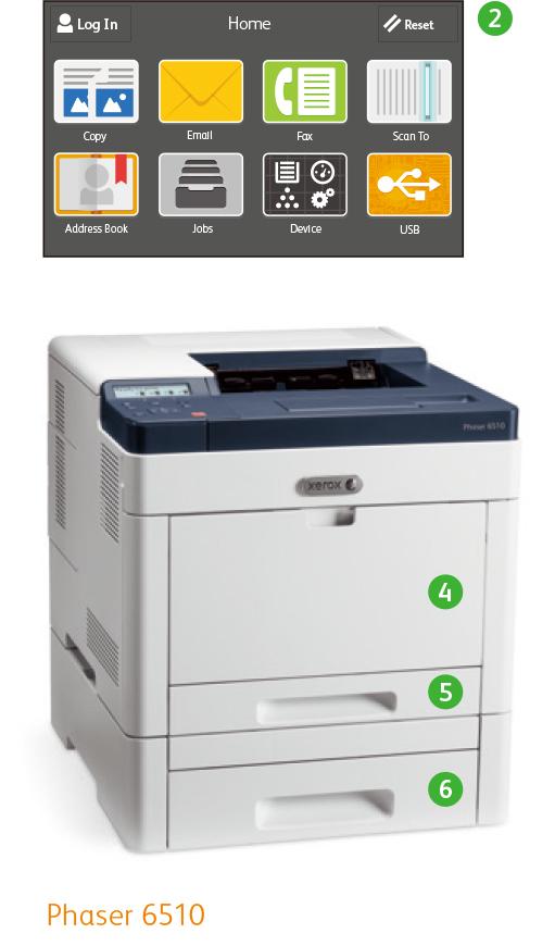 Xerox Phaser® 6510 & WorkCentre® 6515 Printer - NeweggBusiness com