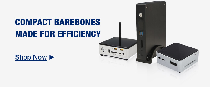 COMPACT BAREBONES MADE FOR EFFICIENCY