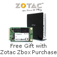 Free Gift with Zotac Zbox Purchase