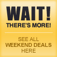 See all weekend deals here!