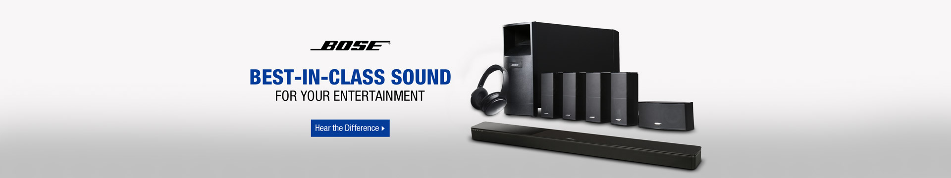 Best-in-class sound