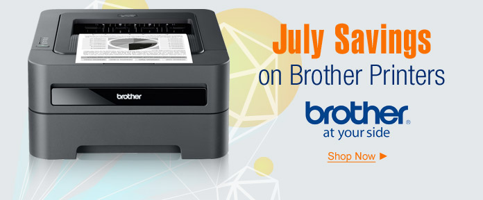 July savings on Brother Printer