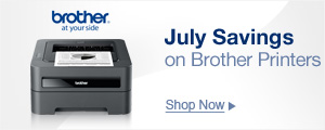 July Saving on Brother Printers