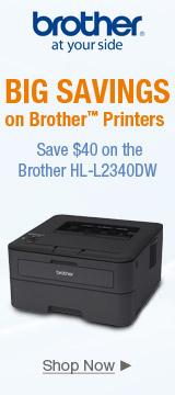 Big Savings on Brother Printers