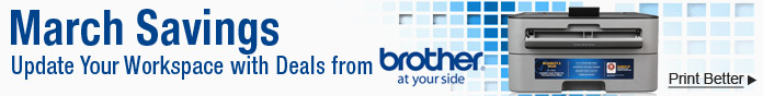 Brother March Savings