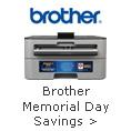 Brother Memorial Day Savings