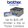 Additional savings for Ink & Toner