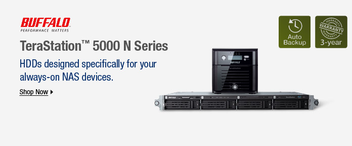 HDDs designed specifically for your always-on NAS devices
