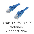 Cables for your network, connect now!