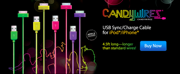 USB Sync/Charge Cable for iPad/iPhone