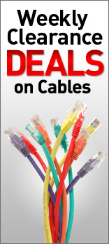 Weekly Clearance Deals on Cables