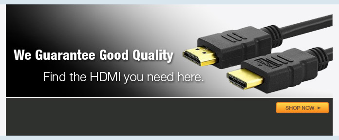 We guarantee good quality find HDMI here