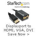 Displayport to HDMI, VGA, DVI