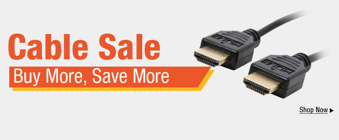 Cable sale buy more, save more shop now