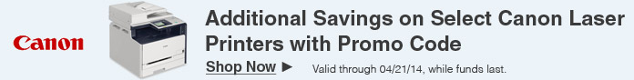 Additional Savings with Promo code