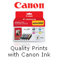 Quality Prints with Canon Ink