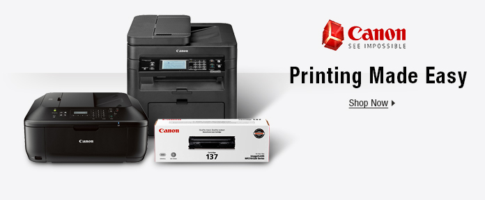 Canon: Printing Made Easy